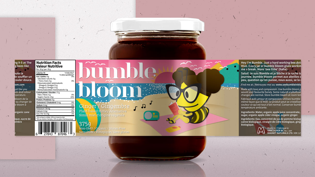 Bumble Bloom - Angus Wong Designer