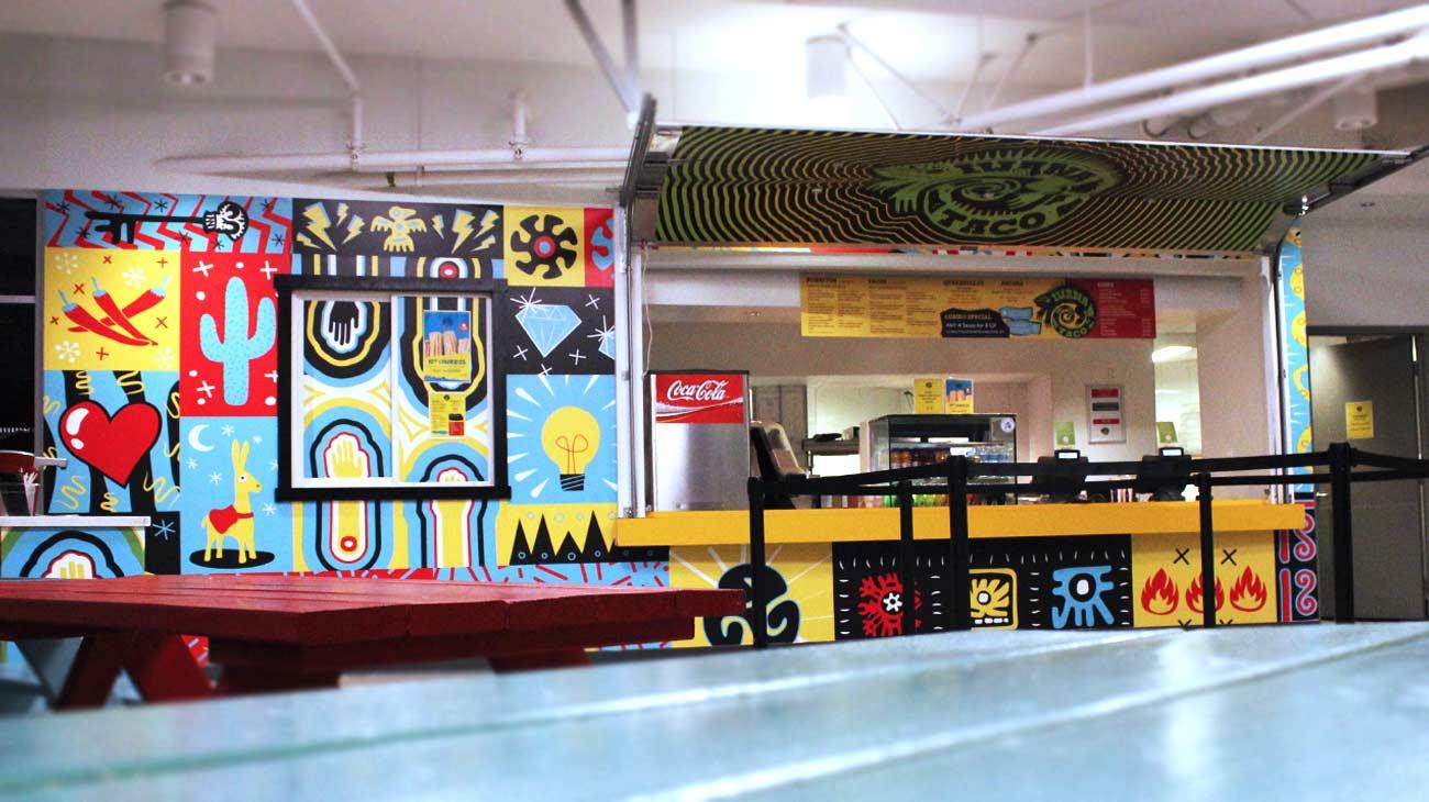 Iwana Taco at UBC