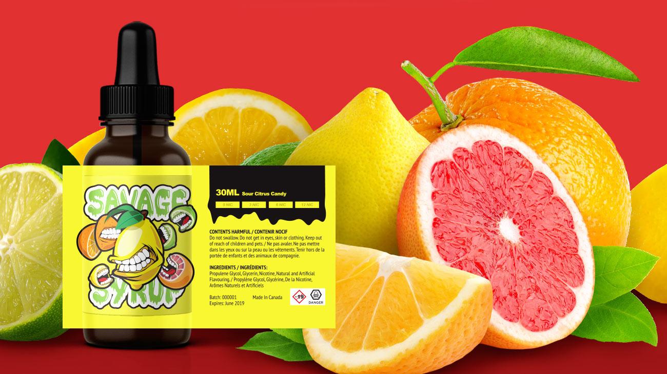 Sour Citrus Candy