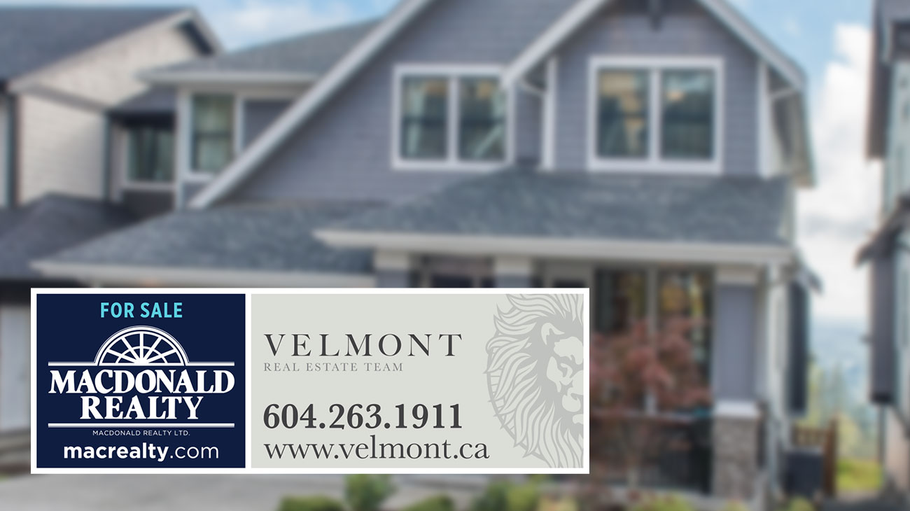 Velmont Real Estate Group Signage