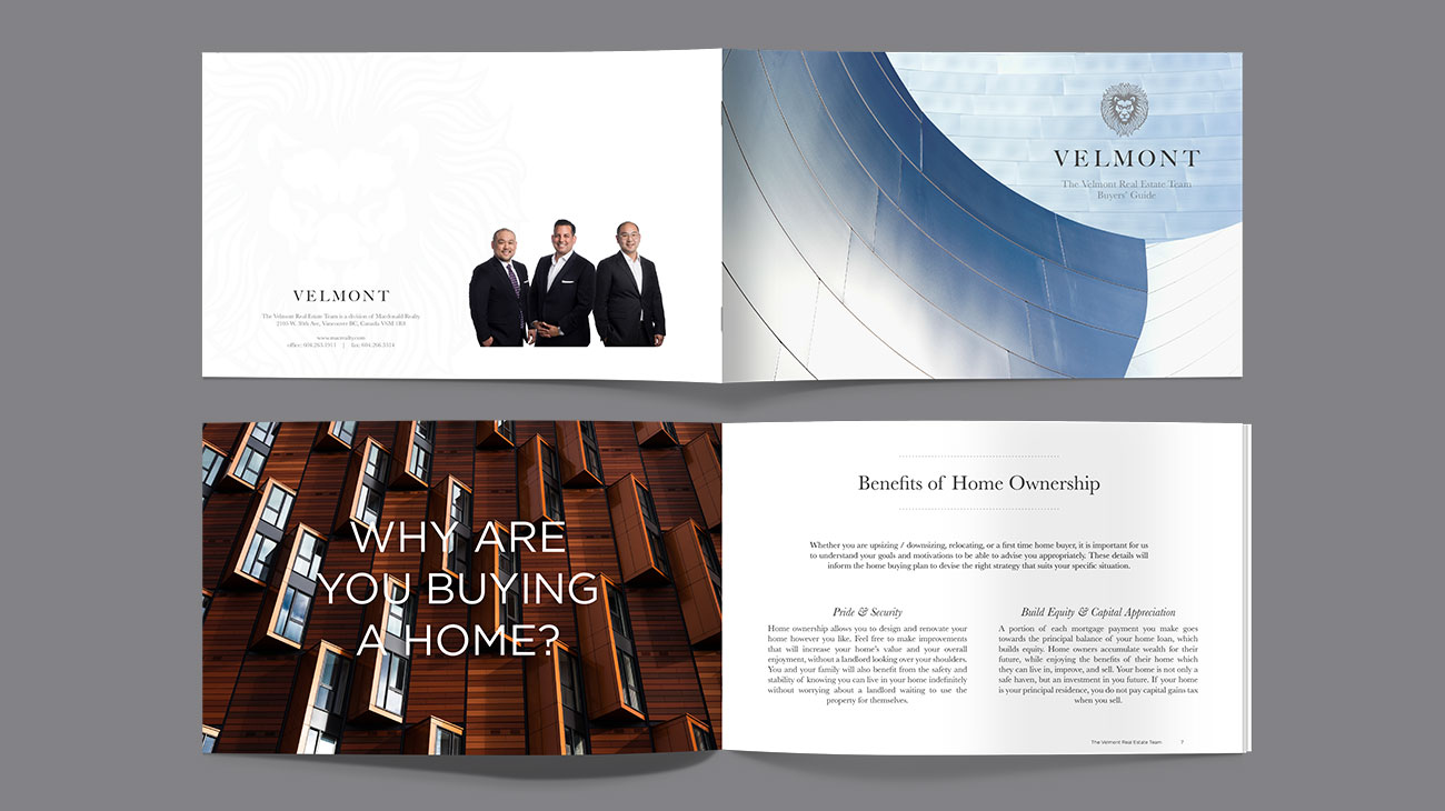 Velmont Real Estate Group Buyers' Guide