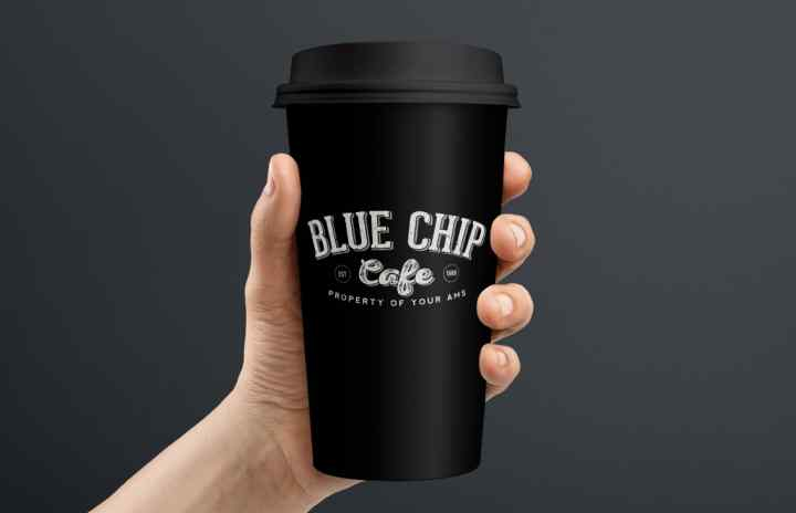 Blue Chip Cafe Cup